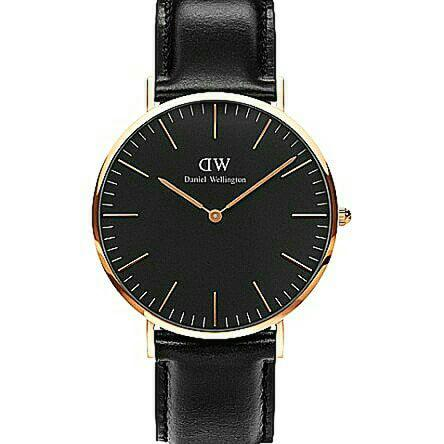 Daniel wellington Classic Sheffield Black Gold & Black Silver