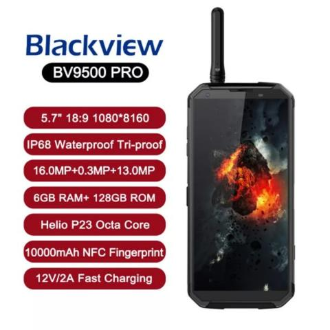 BLACKVIEW BV9500 PRO RAM 6GB ROM 128GB