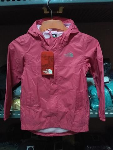 The North Face TNF Original Type Toddler Tailout Rain Jacket Pink 5y