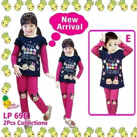 Baju anak little pineapple