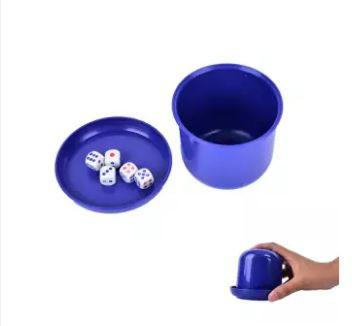 Gelas manual mini kocok dadu - Manual mini dice shaker