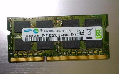 Memory notebook soddimm ddr3 4gb