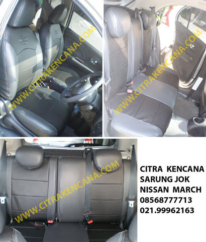 PROMO SARUNG JOK NISSAN MARCH