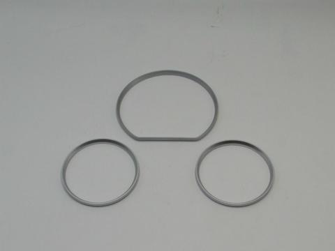Gauge ring BENZ W210 (00-02) satin chrome