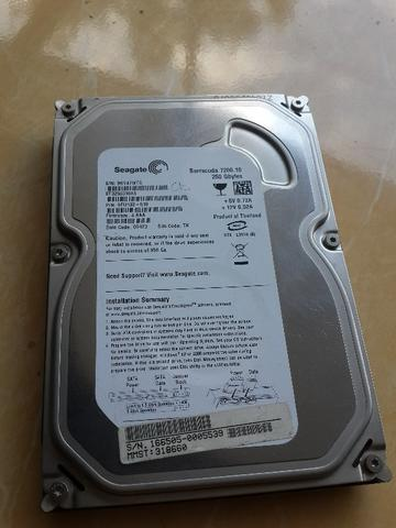 HDD internal CPU Seagate Barracuda 250gb Sata 7200rpm Sehat 100%