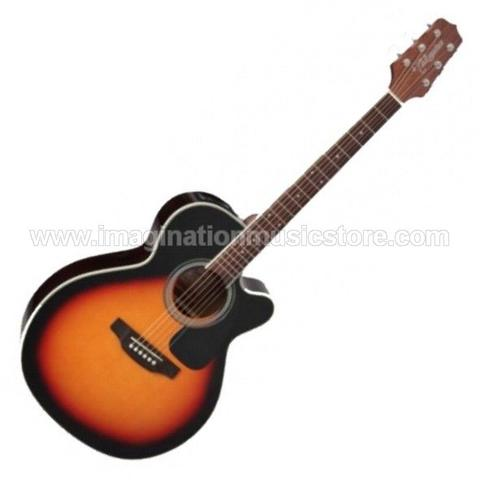 Takamine ED3NC NEX Cutaway Acoustic Electric - Brown Sunburst