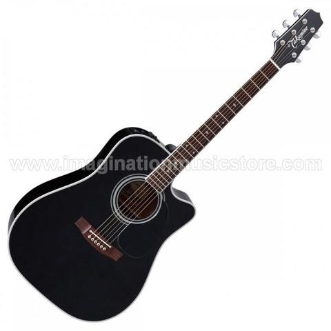 [IMAGINATION MUSIC STORE] Takamine EF341SC - Black made in Japan