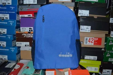 Tas Ransel Diadora Backpack Blue Original Murah