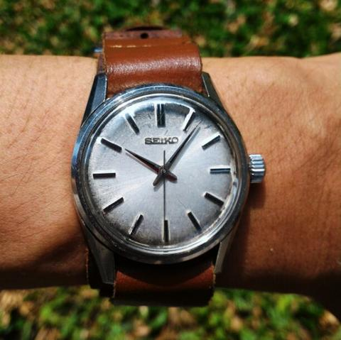 Seiko LM Lord Marvel 36000 bph Natural Aging Vintage 5740