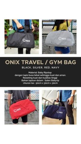 Travel Bag & Gymbag Onix Import Quality Multifungsi
