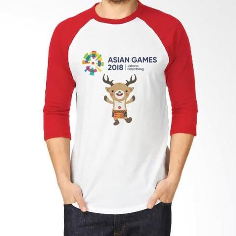 Kaos Raglan Asian Games