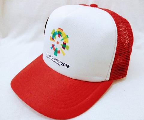 Topi Jaring Trucker Asian Games