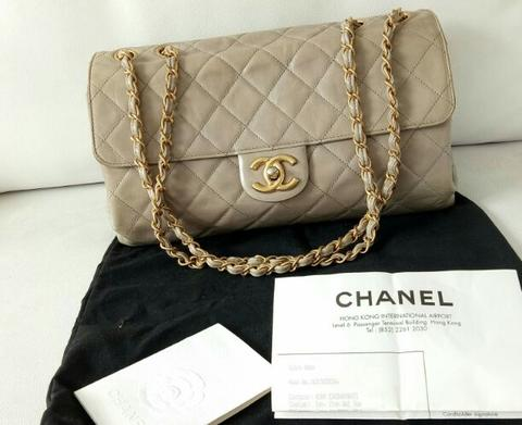 Jual Tas Branded Original Chanel Jumbo Second Preloved Bekas Authentic Bag  LV Fendi 0d9ee401c4