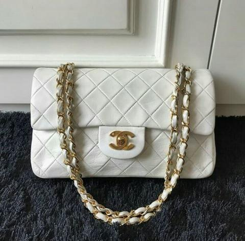Jual Tas Original Branded Chanel Vitage Double flap Second Bekas Preloved  Authentic 6b85d05527