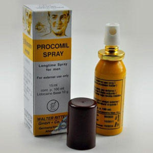 Prokomil Spray ORIGINAL GERMANY. Import Product Obat Tahan Lama Oles