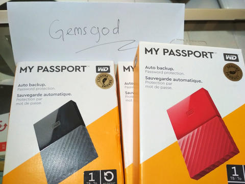 WD My Passport 1TB GRATIS ISI FILM HD!!!!