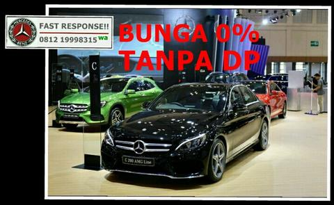 MERCEDES-BENZ C 200 AMG BEST OVER DEAL EVER!!! ONLY @ ATPM MERCEDES-BENZ JAKARTA!!!