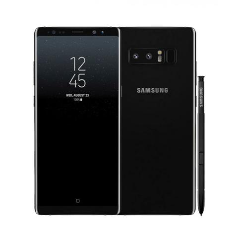 official photos 2775f 6b0fd WTS> Samsung Galaxy Note 8 Midnight Black (incl Tumi Leather Case)