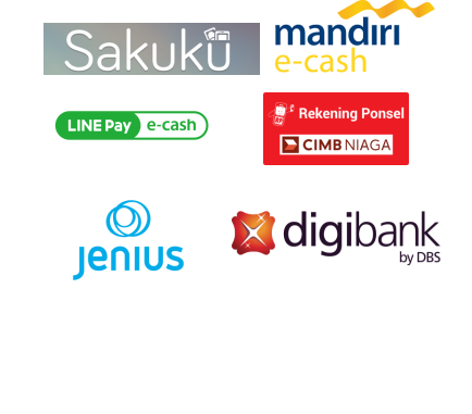 JUAL TOP UP/TARIK SALDO EMONEY E-COMMERCE (SAKUKU/ECASH/REK PONSEL/JENIUS/DIGIBANK)