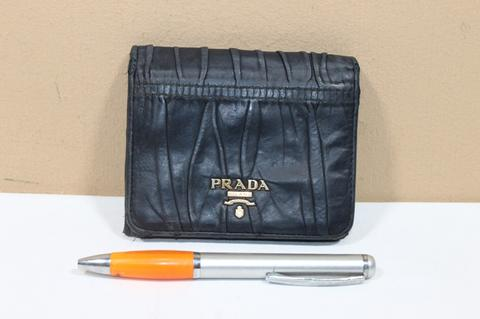 Terjual Dompet prada P199 Black wallet second original asli  a4325b29cf