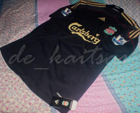 Original Liverpool 2009-10 Away Match Issue Jersey Formotion BNWT