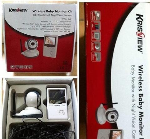 Wireless Baby Monitor Kit ( with Night Vision Camera)