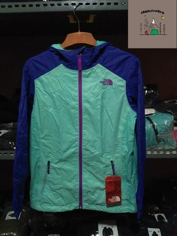 The North Face TNF Original Tipe Molly Triclimate Light Blue Size M Girls