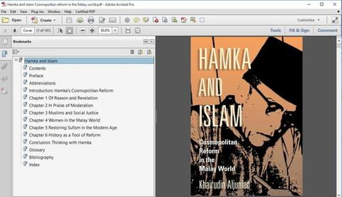 Hamka and Islam Cosmopolitan reform in the Malay world