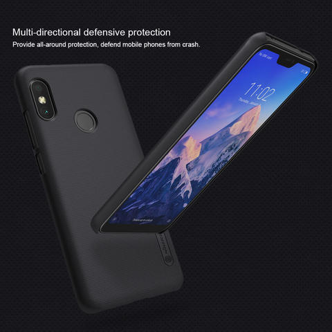detailed pictures 2b118 36244 TERJUAL Hardcase Hard Case Xiaomi Redmi 6 Pro (Mi A2 Lite) - NILLKIN Super  Frosted Shield