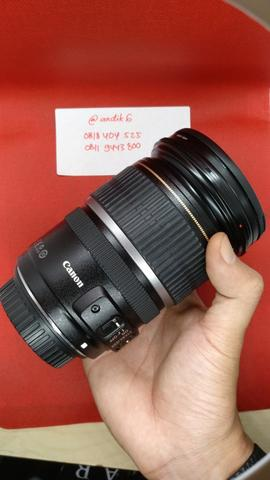 Lensa Zoom EFS Canon 17-55mm F2.8 IS USM bukan 24-70mm IS