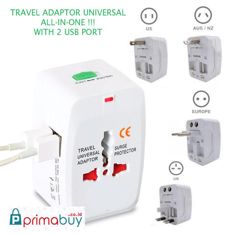 UNIVERSAL TRAVEL ADAPTER ( For Travelling.)