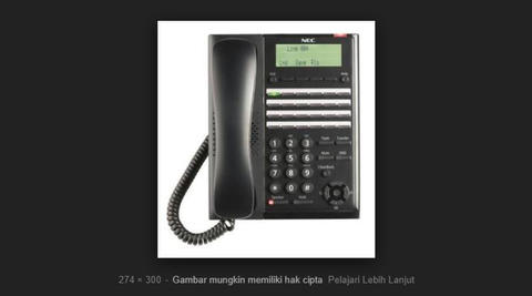 BARU! SPECIAL PRICE! SET A PABX Panasonic TES 824 (3co 8 Extension)