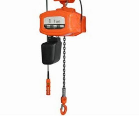 Electric Chain Hoist 1Ton 6 Meter 380V 3phase 50Hz IP55 Class.F