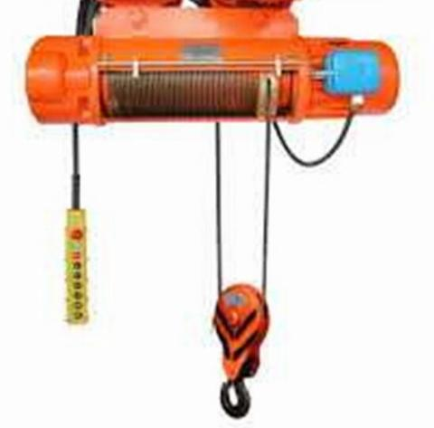 Electric Wire Rope Hoist 1 Ton 6 meter 380V 3phase IP55 Class.F