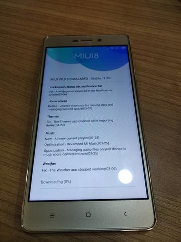 Xiaomi Redmi 3S Gold 2nd Unit only
