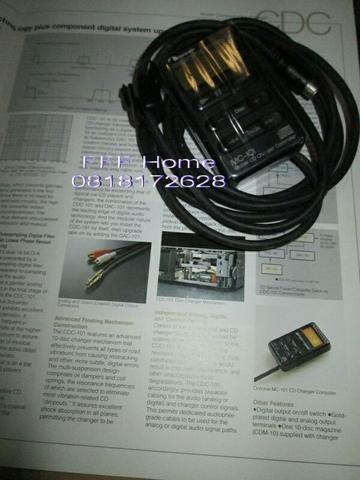 NAKAMICHI CDC-101 ACCESSORIES