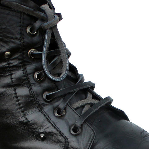 Tali Kulit 60cm Variasi Warna untuk Sepatu/Boots (Leather Shoelaces) - Mr. Shoelaces