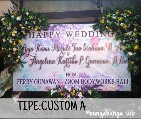 Papan Bunga / Karangan duka, wedding, birthday (Surabaya)