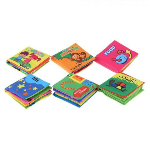 Baby Soft Book Clothbooks
