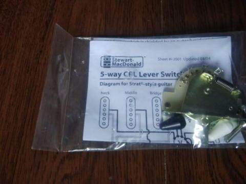 Selector switch CRL