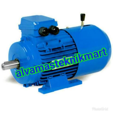 Brake motor 0.75kw /1hp 380V 1500Rpm B3 Foot