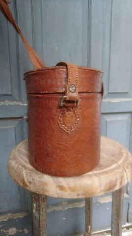 Vintage Genuine Leather Bags Rounded