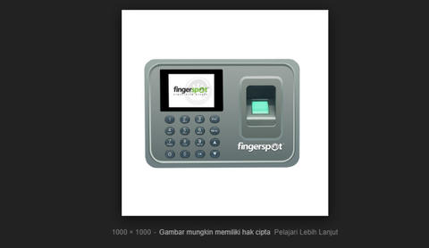 Mesin Absensi Fingerprint Magic MP5900 Include Internal Baterai dan RF