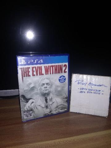 PS4 THE EVIL WITHIN 2 BNIB