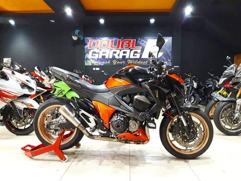 KAWASAKI Z800 ABS 2014 ORANGE BRANDED SPEC MULUS