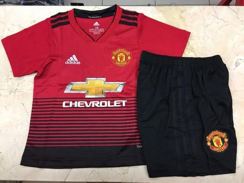 new style 263d2 db31f Jersey Manchester United Home Anak-anak 2018-2019