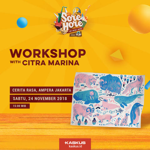 WORKSHOP GOUACHE BY CITRA MARINA