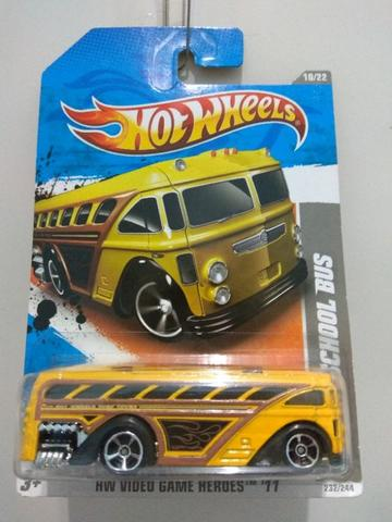hotwheels school bus