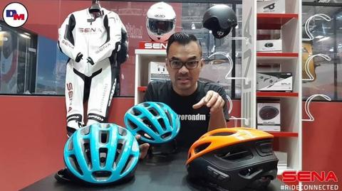 Hellowww Gowes Community. This one is for you! SENA R1 - Smart Cycling Helmet