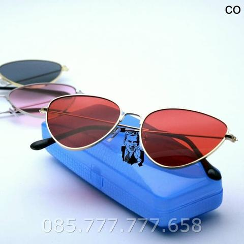Kacamata UV Protection Cat Eye Red Kacamata Sonia
